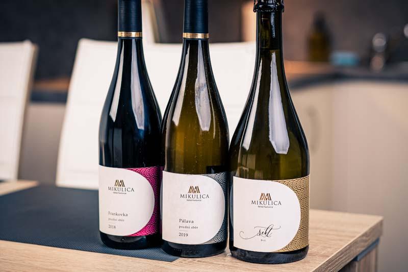 Naše vína vám dáme klidně na pokoj.